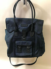 #147 Barbour Regent Holdall Waxed Cotton Bag  RETAIL $479