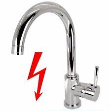 Niederdruck Waschtisch Armatur für Waschbecken Wasserhahn Boiler Mischbatterie
