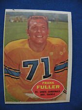 1960 Topps #111 Frank Fuller St. Louis Cardinals card $1 S&H NFL football