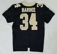#34 Justin Hardee of New Orleans Saints NFL Equipment Room Team Issued Jersey