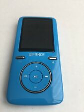 DIFRNCE Df-MP 1805 MP4 reproductor 8GB, Azul