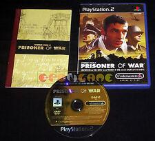 PRISONER OF WAR Ps2 Versione Ufficiale Italiana 1ª Edizione ••••• COMPLETO