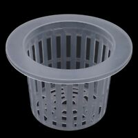 5X Top Heavy Duty Mesh Pot Net Cup Basket Hydroponic Aeroponic Plant Grow Tools