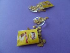 Famous Potato Chips Bag Bowl Dollhouse Miniature1:12 Gailslittlestuff