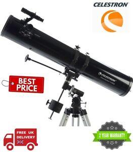 Celestron PowerSeeker 114EQ Newtonian Telescope 21045 (UK Stock)