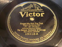 The Benson Orchestra of Chicago: Forget-Me-Not 78 - Victor 19312