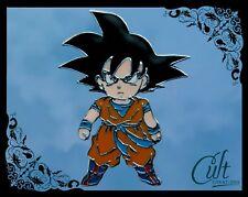 Dragon Ball Z metal and enamel Goku Pin Badge Free UK post.
