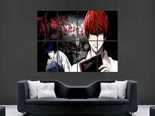 Death Note Manga Japonesa Cómic Gigante arte cartel impresión