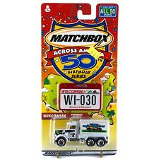 Matchbox Across America WI Wisconsin Peterbilt Tanker Dairy #30 50th Birthday