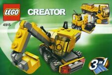 LEGO MINI CONSTRUCTION 4915 Set Creator backhoe vehicle digger micro