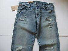DENIM & SUPPLY RALPH LAUREN Men's Distressed Straight Fit Murray Jeans 30x32