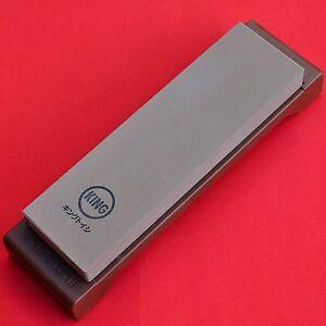 Japan waterstone whetstone knife sharpener sharpen fine #1000 KING K-45 HT-42