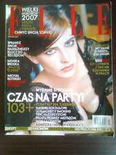 ELLE 1/2007 front EVA GREEN in. Brodka, Monica Bellucci, Nigella Lawson