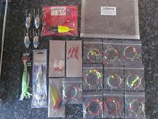 Confezione DA PESCA Shore-Pesca Marittima Rigs x 10, 3 confezioni piume, i sistemi BASS LURE
