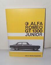 Uso e manutenzione Alfa Romeo GT 1.3 Scalino use and maintenance owner's manual
