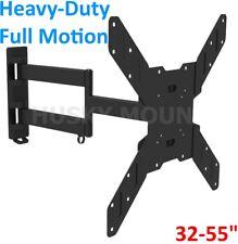 """Articulating Full Motion Smart TV Swivel Wall Mount LCD LED Bracket 32 47 50 55"""""""