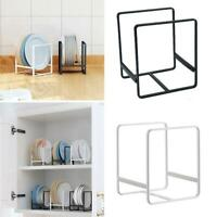 Home Plate Dish Drain Rack Folding Sink Shelf Kitchen Cabinet Tray Organizer neu