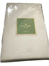 Kate Spade Charlotte Street Table Cloth White Dot 60X84 NIP