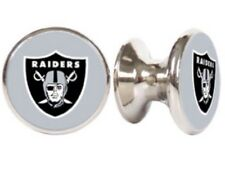 OAKLAND RAIDERS NFL DRAWER PULLS / CABINET KNOBS