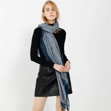 Women Fashion Stripe Print Beach Wrap Stole Shawl Scarf Accessory Decor Newly