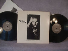 Sting, Nothing Like The Sun, A&M Records SP 6402, 1987, 2 LPs, With Lyrics Sheet