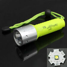 60m Diving CREE XML-T6 1600 Lm LED Lamp Flashlight Waterproof Torch Light