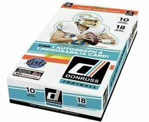 2021 Panini Donruss Football Hobby Box Factory Sealed NFL