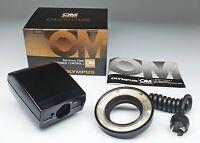 Olympus Electronic Flash T Power CONTROL1 + T 10 Ring Flash 1