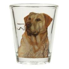 Yellow Labrador Retriever Shot Glass
