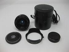 Sigma SQ 24mm f/2.8 Filtermatic Multi-Coated Konica Mount Lens - Super Clean