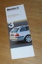 BMW 3 Series Touring Price Guide E46 1999 - 318i 328i 320d 330d SE