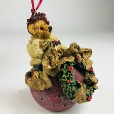 In Box Boyds Bears & Friends Folkstone Deck The Halls Christmas Ornament 25700