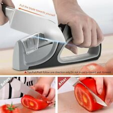 Knife Sharpener Professional Electric 4 Stages Sharp System fixed angle cutco