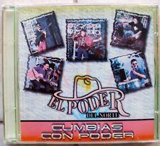 """PODER DEL NORTE  ´´CUMBIAS CON PODER""""                               CD BRAND NEW"""