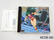 Time Gal Sega MegaCD Japanese Import Mega Drive CD JP Japan US Seller B