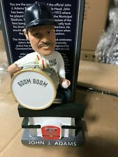 John Adams Cleveland Indians Drummer Bobble Bobblehead New Version