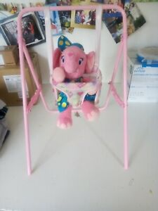 Doll Baby Toddler Infant Swing Playset Kids Simulation Furniture Playset Toy