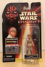 Hasbro Star Wars Young Anakin Skywalker (Tatooine) Commtech Action Figure 1998