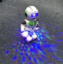 Smart Space Dancing Robot Electronic Walking Toy With Music Light Kids Xmas Gift