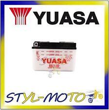 6N11A-1B BATTERIA ORIGINALE YUASA CON ACIDO LAVERDA LZ 125 Sport 1981