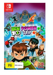 Ben 10 Power Trip Nintendo Switch Brand New Sealed Free Postage