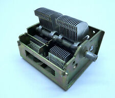Variable Air Capacitor 2x 12-495pF HAM radio NOS Russian Soviet