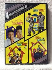 House Party Collection: 4 Film Favorites DVD Kid 'N Play Robin Harris