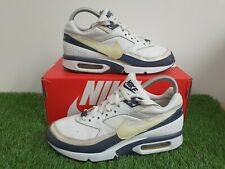 Nike Air Max BW Classic Trainers Size 5 2006 Uk White/Blue