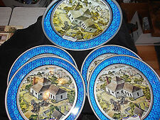 5-VTG PABST BLUE RIBBON BEER SERVING TRAYS~MILWAUKEE WISCONSIN