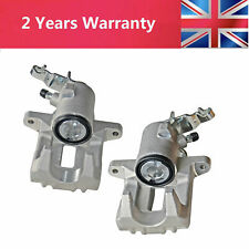 Pair Brake Calipers For AUDI A3 8P1 8PA VW GOLF MK 5 MK6 Rear Left+Right 38mm