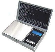 American Weigh Scales AWS1KGSIL Silver Digital Pocket Scale 1000 by 0.1 G