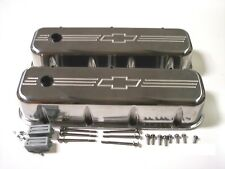 Big block Chevy Bow Tie aluminum valve covers TALL 396 402 427 454 502 540