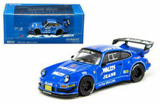 TARMAC WORKS 1:64 PORSCHE RWB 930 WALL'S JEAN BLUE LIMITED EDITION T64-015-WJ