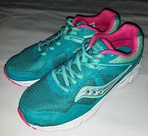 SAUCONY COHESION 10 SK160389Y ATHLETIC RUNNING SHOES - WOMENS SIZE 5.5 (4.5 UK)
